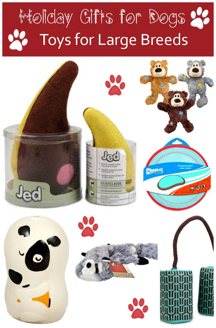 Holiday Gift Ideas for Dogs: Fun Toys for Large Breeds