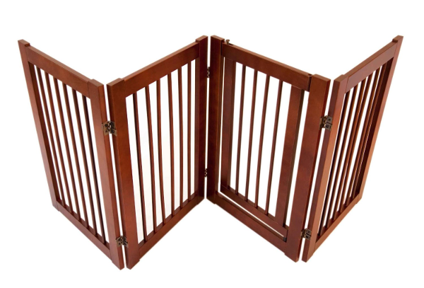 ... gate folds? The 360 Degree Petz Folding dog Gate is another great idea