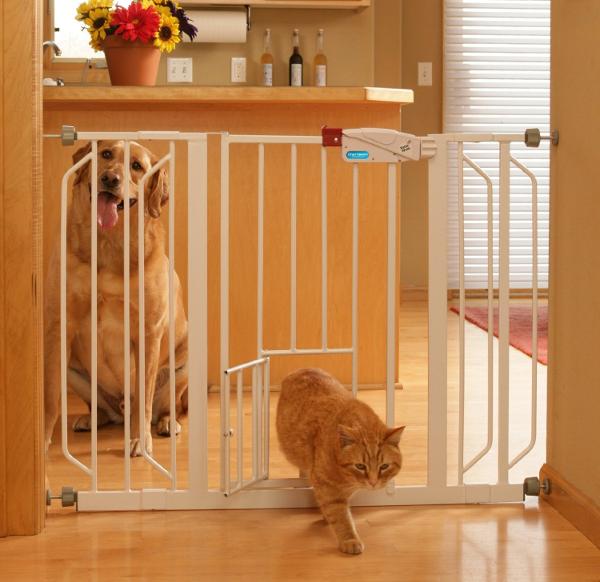 Carlson Extra Wide Walk Thru Gate Best Dog Gate idea For Large Dogs