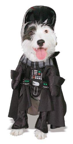 Darth Vadar Dog Costume
