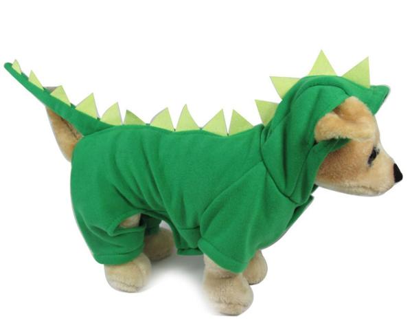 Dinosoar Dog Costume