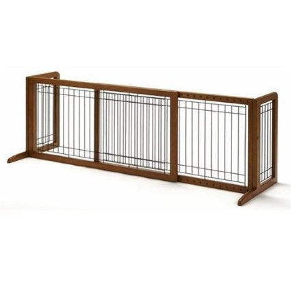 Free Standing Pet Gate Best Dog Gates For Large Dogs