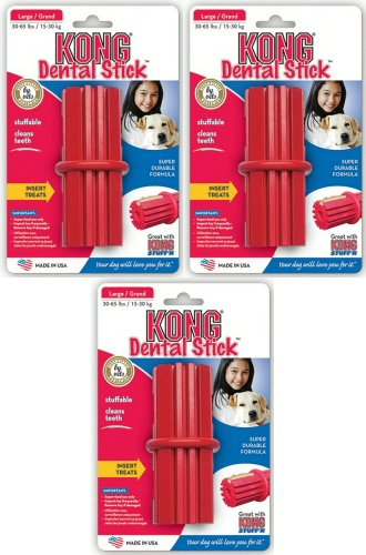 Kong Dental Stick | Best Dog Chew Toys for Large Dogs