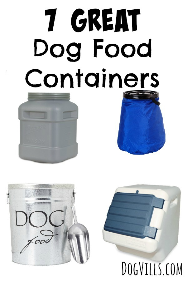 7 great dog food containers dogvills. Black Bedroom Furniture Sets. Home Design Ideas