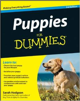 Puppies For Dummies Puppy Training Books