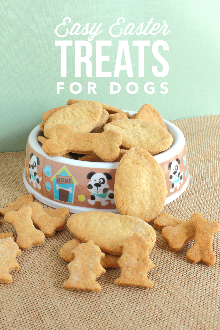 Easy Easter Dog Treats Recipe for Fido's Basket