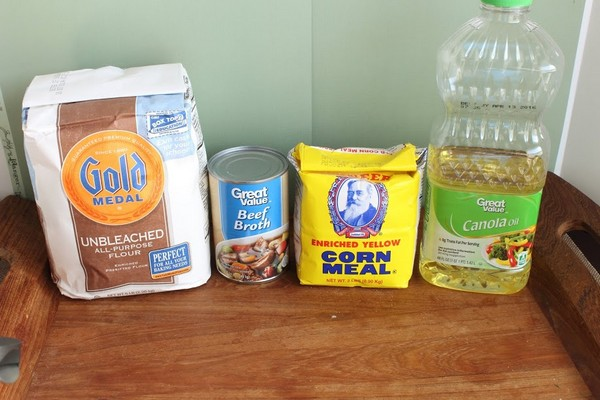 Easy Easter Dog Treats Recipe ingredients
