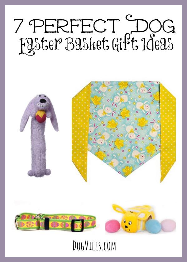7 perfect dog easter basket gift items dog vills negle Images