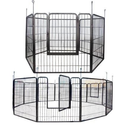 Apontus Heavy Duty Playpen Best Wide Dog Gates For Outdoors