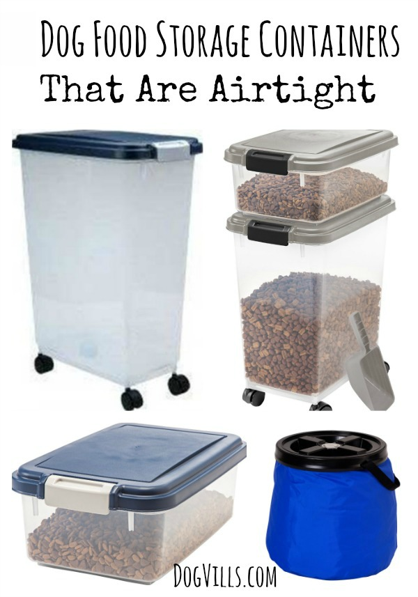 Keep your pup's food as fresh as the day you opened it and stop nasty bugs from getting in with these 6 dog food storage containers that are airtight.