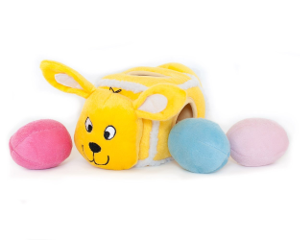 Hide An Egg Squeaky Toy Dog Easter Basket Gift Items