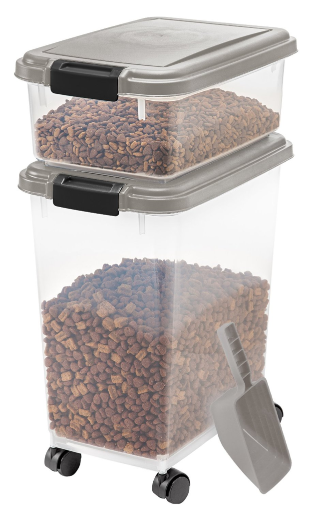 Iris Airtight Pet Food Container Combo Kit Airtight Dog Food Storage Containers