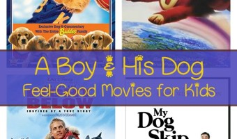 There's something magical about a boy and his dog! We love these dog movies that show the bond between dogs and the kids that love them. All feel-good movies with happy endings!
