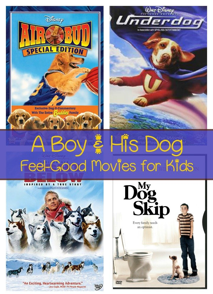 A Boy and His Dog: Feel-Good Movies for Canine-Loving Kids