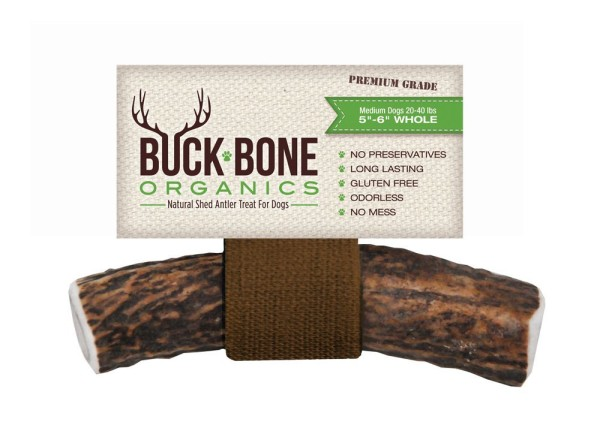 Buck Bone Natural Elk Antler hypoallergenic Dog Bone