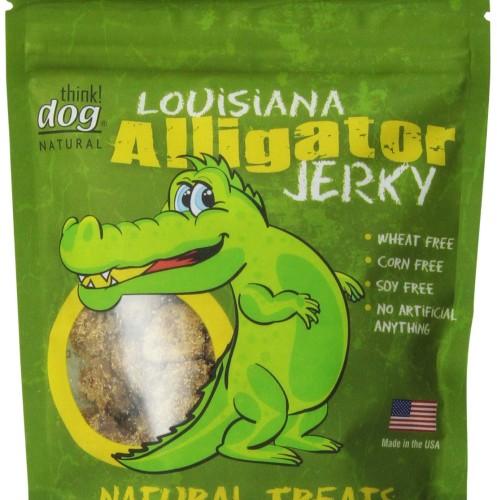 Louisiana Alligator Jerky Hypoallergenic Dog Chew Toys