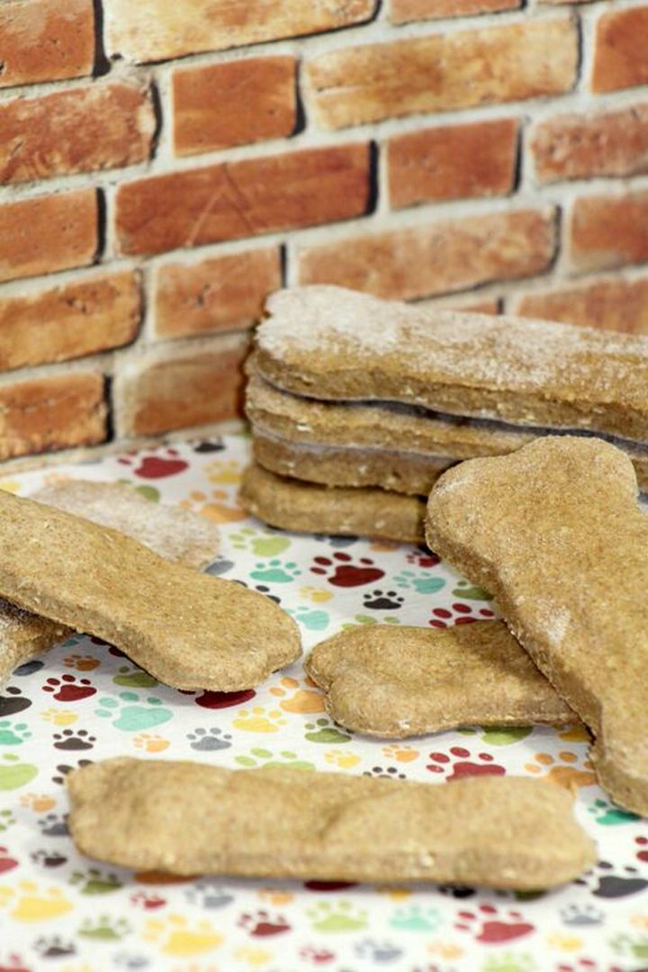 Cinnamon Pumpkin dog treats on DogVills.com