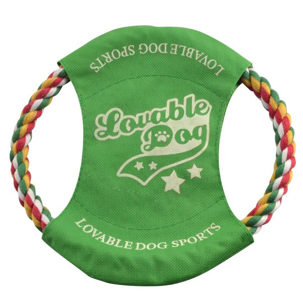 Braided Rope Frisbee For Dogs