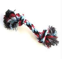 Puppy Cotton Bone Braided Chew Toy