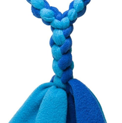 Squishy Face Braided Fleece Chew Toy