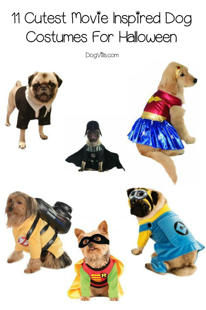 11 Cutest Movie Inspired Dog Costumes For Halloween