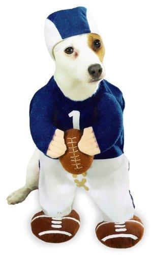 Football Fever Dog Costume MEDIUM halloween dog costume for boy