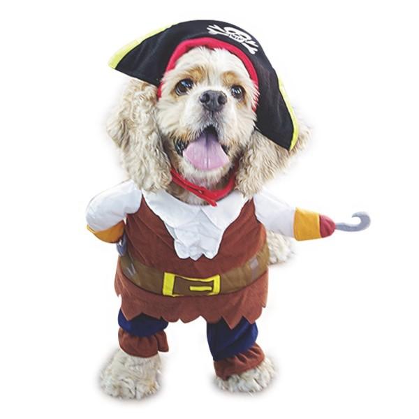 NACOCO Pet Dog Costume Pirates of the Caribbean Style hallowen dog cotume for boy dog