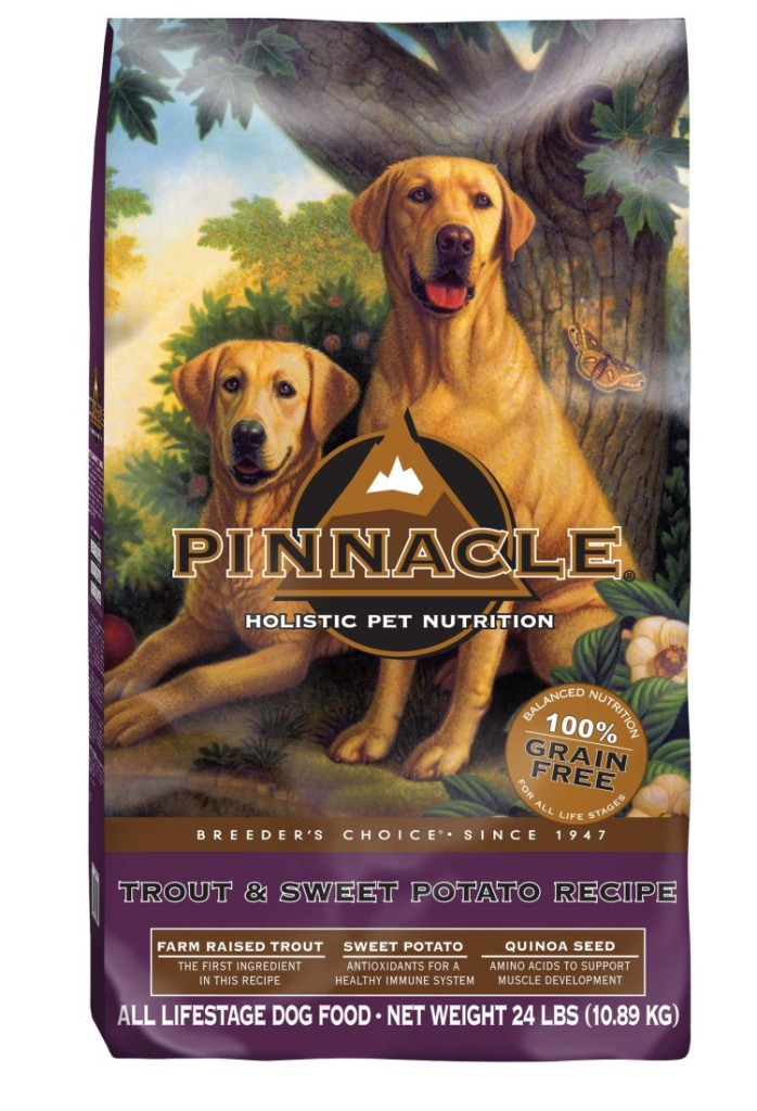 Check out Pinnacle Grain Free Dog Foods and see how they can help support healthy immune systems in your canine companion.