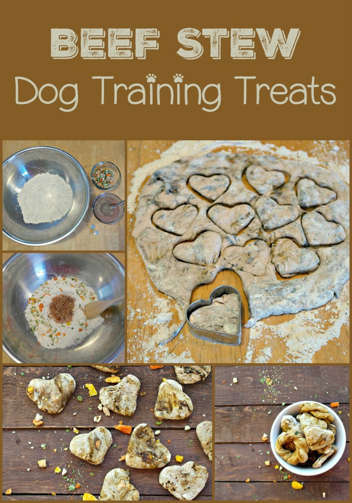 Beef Stew Flavored Dog Treats: A Fun Training Treats Recipe for Dogs