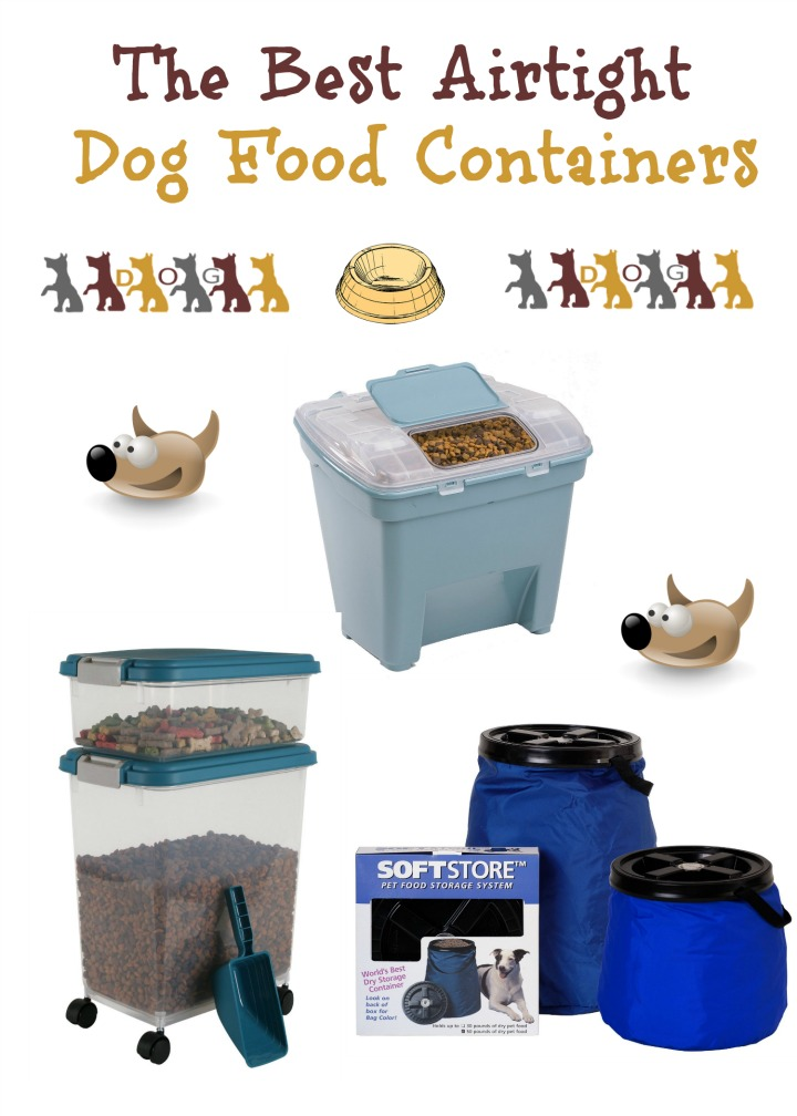 Airtight Dog Food Containers for All Your Needs
