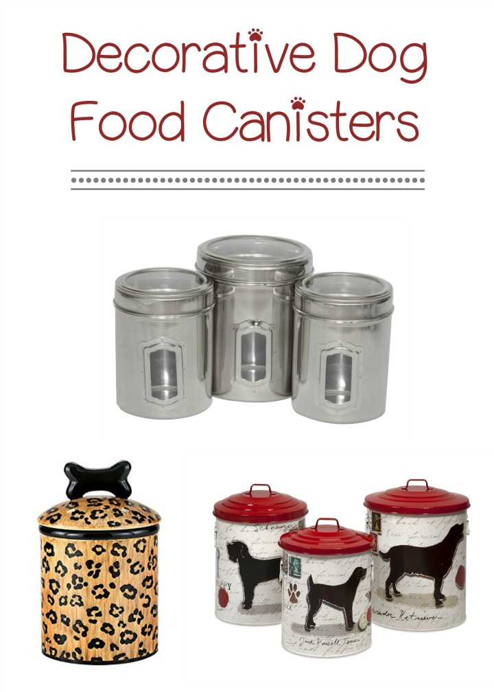 How to Pick Out the Best Decorative Dog Food Canisters