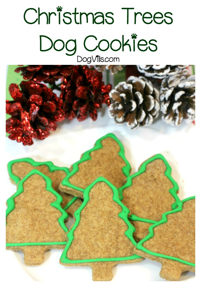 Holiday Dog Treats Recipe: Christmas Trees