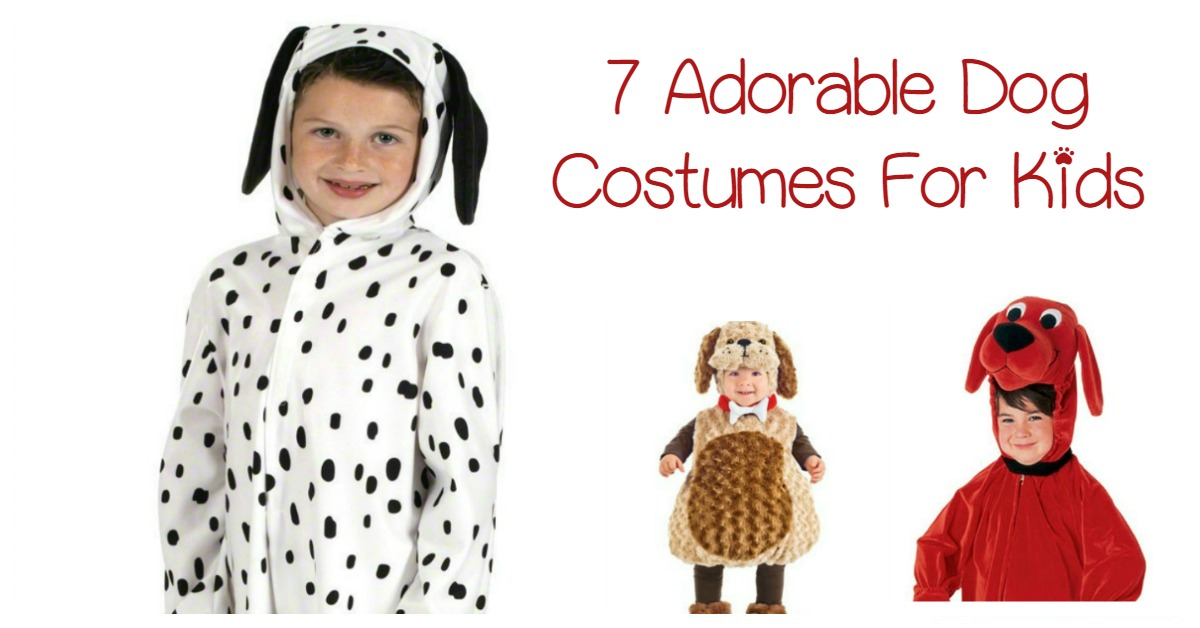 sc 1 st  DogVills & 7 Adorable Dog Costumes For Kids That They Will Love - DogVills
