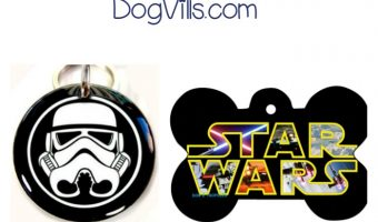 I found these 5 Star Wars dog tags your dog will love! They are sure to dress up his collar and give him some Star Wars style. Check them out!
