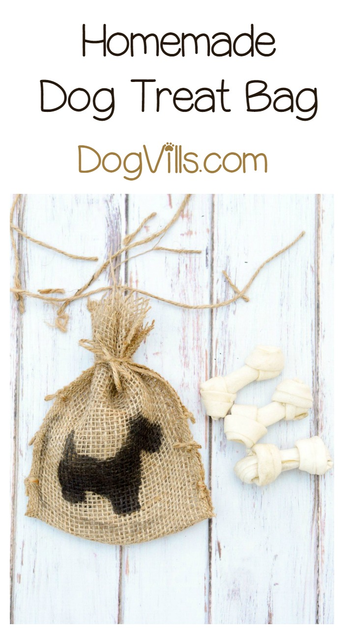 Super Cute Homemade Dog Treat Bags for All the Pet Lovers in Your Life