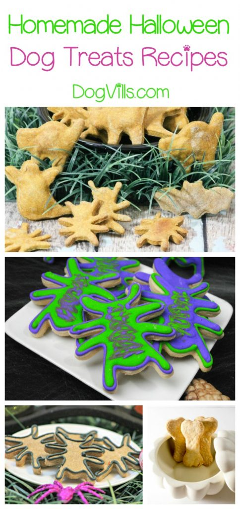 These homemade Halloween dog treats are the perfect reward for Fido's most brilliant tricks! Check them out!