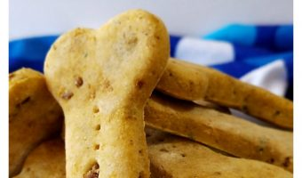 Easy Homemade Chicken and Liver Dog Cookies Recipe with Video Tutorial