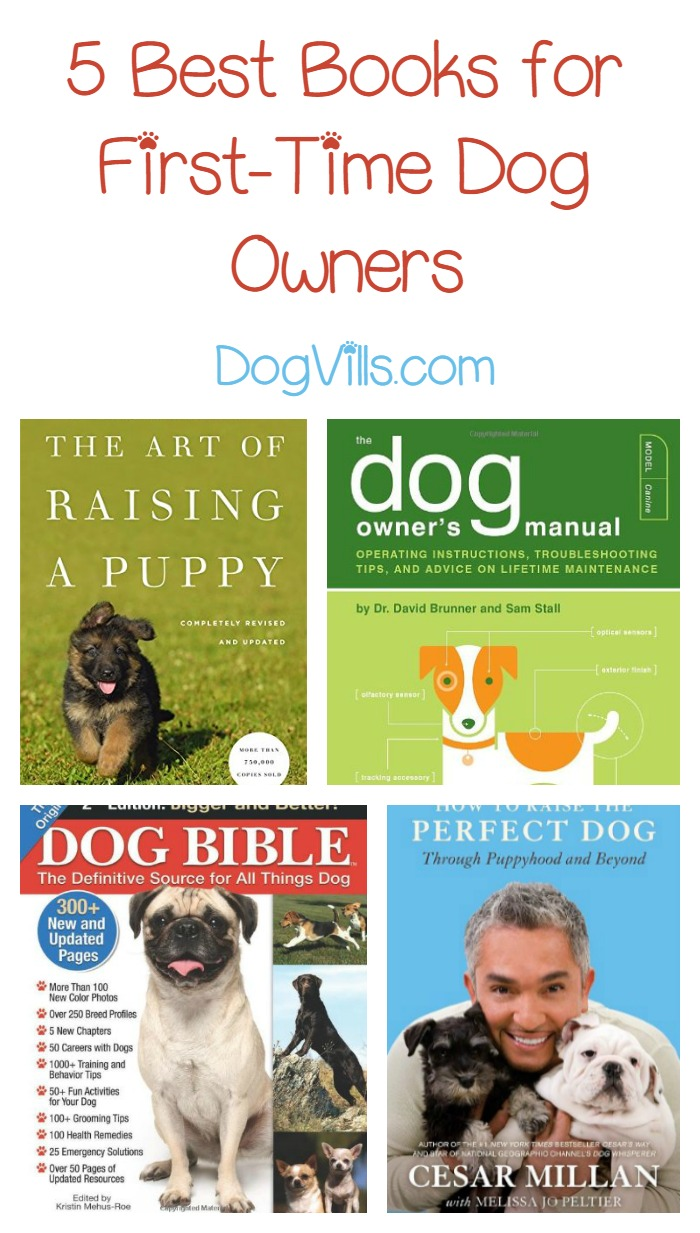 10 Best Books for First Time Dog Owners