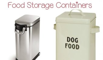 Want to add a touch of class & elegance to your pup's food storage? Check out our favorite metal dog food containers!