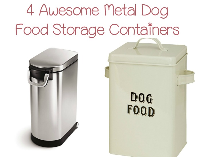 Top 4 Best Metal Dog Food Containers To Try Dogvills