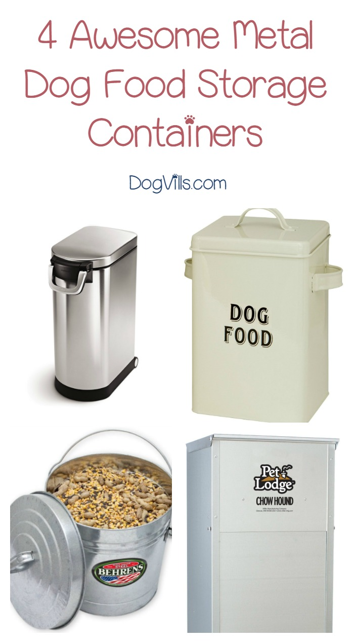 Storing Dog Food In Metal Containers