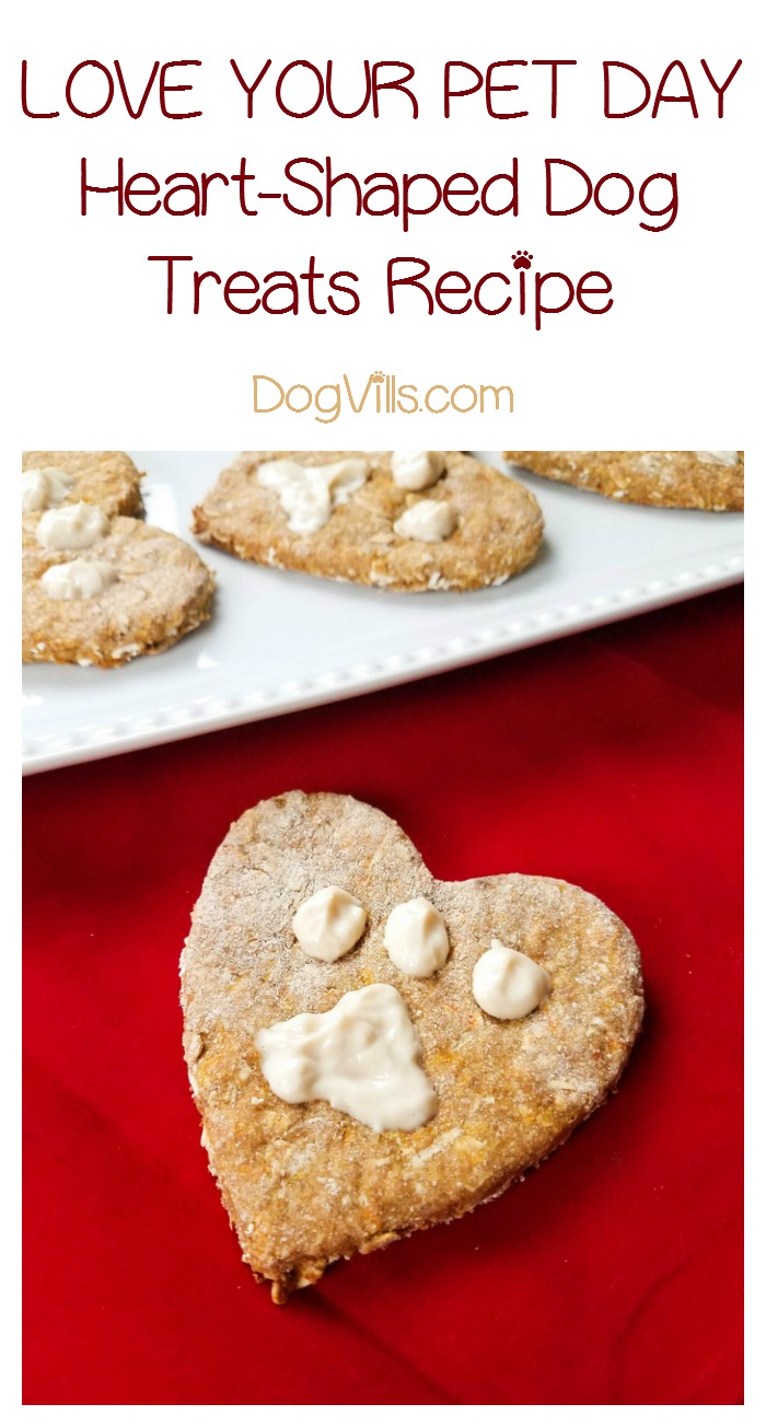 Celebrate Love Your Pet Day with Yummy Heart-Shaped Dog Treats!