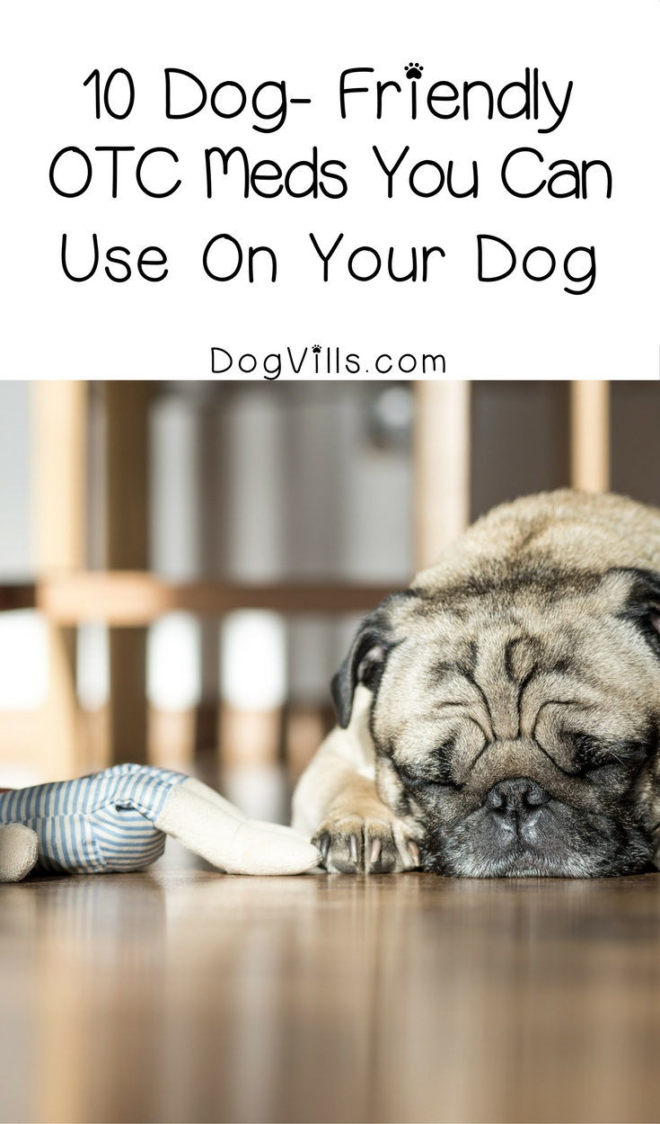 Otc Medications You Can Use For Your Dog Dogvills