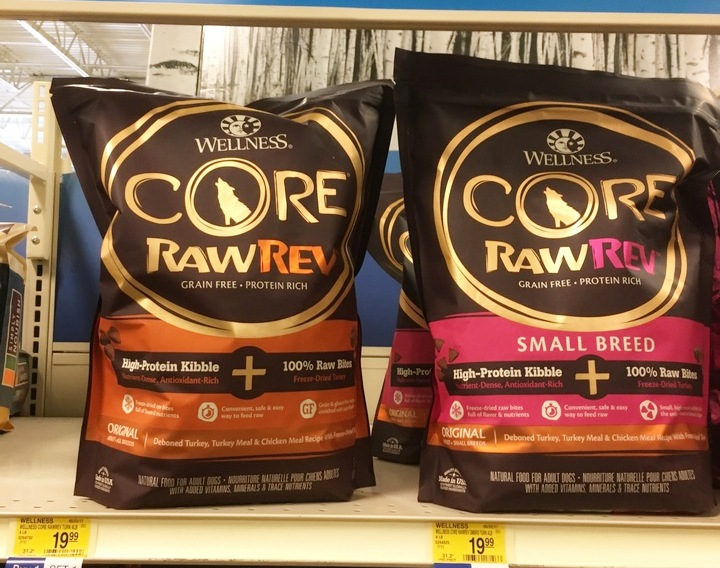 Buy One Bag of Wellness CORE RawRev, Get one 50% off at PetSmart