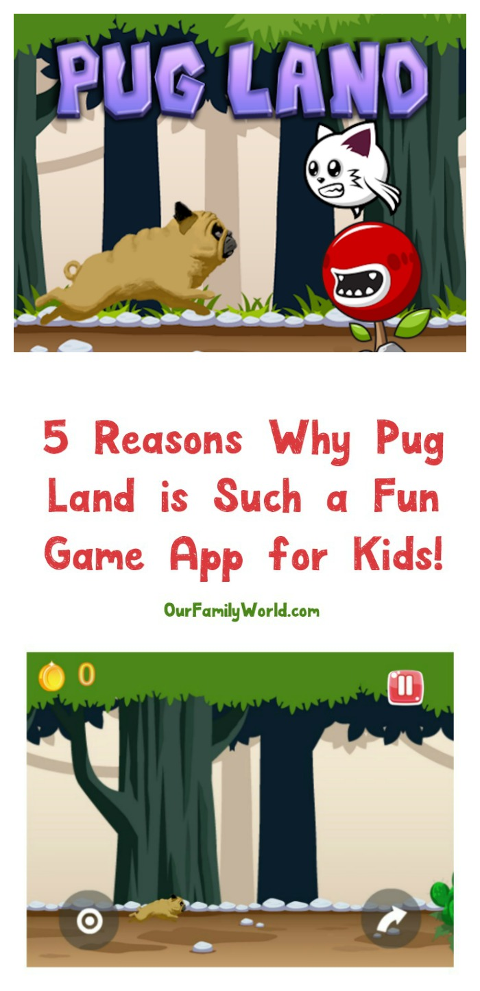 Pug Land App: Super Cute & Free adventure game.