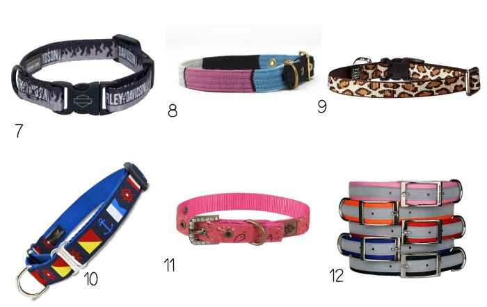 How insanely adorable are these 12 dog collars? Grab one for every day of the week! Check them out now.