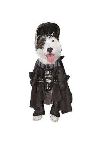 Darth Vader Dog Costume perfect for Halloween