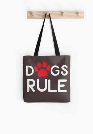 Dog Lovers Tote Bags Dog Gift Idea Dogs rule