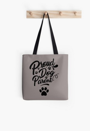 Dog Lovers Tote Bags Dog Gift Idea Proud Dog Parent