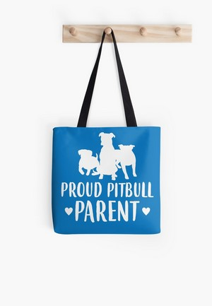 Are you a proud pitbull parent? Tell the world with this adorable line of apparel, home decor, and more! Perfect gift ideas for pitbull dog lovers!